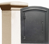 Stucco Column Mailboxes