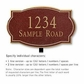 Salsbury 1440MGNL Signature Series Address Plaque