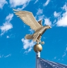 Whitehall Medium Flagpole Eagle