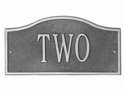 Whitehall Mini Size Rolling Hills Wall Plaque - (1 Line)