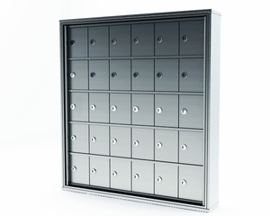 Surface Mounted Mini Storage Lockers