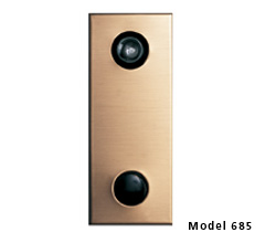 Model 685 Door Chime w/ Bronze Finish