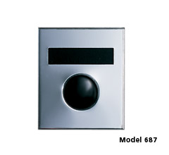 Model 687 Door Chime w/ Anodized Gold Finish