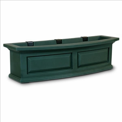 Nantucket 3FT Window Flower Box Green