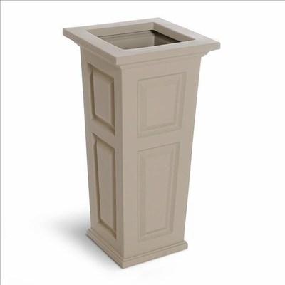 Nantucket Tall Planter - Clay