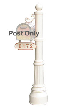 Newport Mailbox Post (post only)