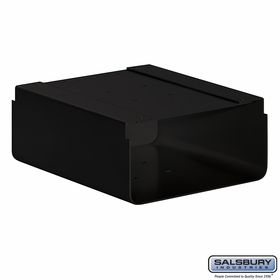 Salsbury 4315B Newspaper Holder For Mail Chest Black