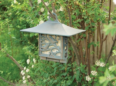 Whitehall Nuthatch Suet Feeder - Oil Rub Bronze