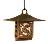 Whitehall Oak Leaf Suet Feeder - French Bronze