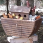 OBJECTS - Noah's Ark Woodendippity Mailbox