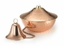 Oil Lamp Large Hammered Copper