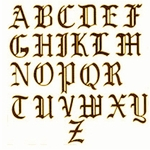 """Old English Chimney Letters 24"""""""