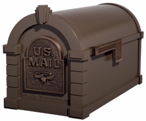 Original Keystone Series Mailbox - Bronze with Antique Bronze Eagle