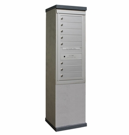 Outdoor Mailbox Kiosk - 8 Tenant Doors - USPS Approved