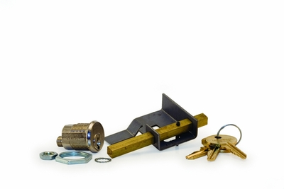 Parcel Locker Lock (Hudson) w/ Cam and 2 Keys - for Tenant Side Of Captive Mechanism - Lock/Key Codes H4001-H5000