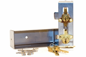 Parcel Locker Lock Kit for Type II, III, and Iv- Includes Lock Kit, Cam Kit, and Cover Kit