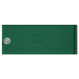Salsbury 3352GRN Door Green Standard B Size Replacement For Cluster Box Unit With (3) Keys