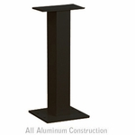 Salsbury 3395BLK Pedestal Black For 8 and 12 Tenant Door CBU