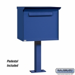 Salsbury Industries Pedestal Dropbox Large (Letters Only)