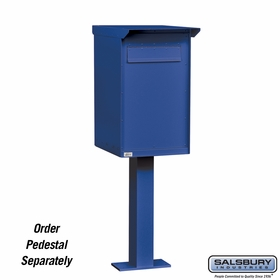 Salsbury Industries Pedestal Dropbox Regular (Letters Only)