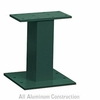 Salsbury 3385GRN Pedestal Green For 13 and 16 Door CBU Outdoor Parcel Locker