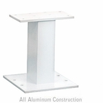 Pedestal White For 13 and 16 Door CBU Outdoor Parcel Locker