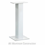 Pedestal White For 8 and 12 Door CBU