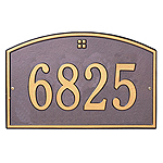 Whitehall Petite Size Cape Charles Wall Plaque - (1 Line)