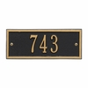 Petite Size Hartford Wall Plaque - (1 Line)