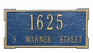 Whitehall Estate Size Roanoke Wall or Lawn Plaque - (1 or 2 lines)
