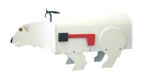 Polar Bear Novelty Mailbox