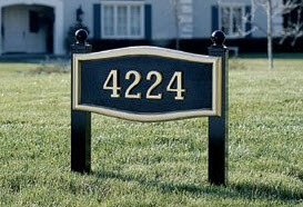 Post Kits for House Mark Address Plaques