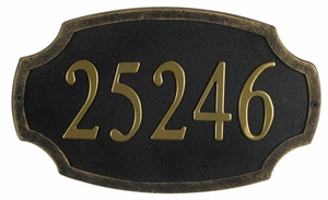 Product- Colonial Address Plaque- SAP-4170