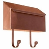 Provincial Collection Brass Mailboxes (horizontal) in Antique Copper