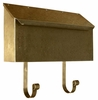 Provincial Collection Brass Mailboxes (horizontal) in Antique Hammered Brass