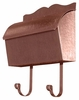Provincial Collection Brass Mailboxes (roll top) in Antique Copper