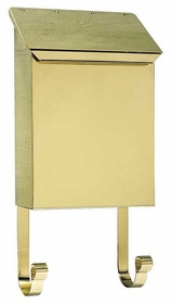 Provincial Collection Brass Mailboxes (vertical) in Smooth Polished Brass