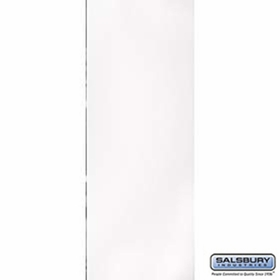 Salsbury 3125WH Rear Cover For Rotary Mail Center White