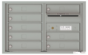 5 Door High Front Loading 4C Mailboxes