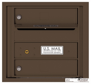 4 Doors High 4C Mailboxes Rear Loading