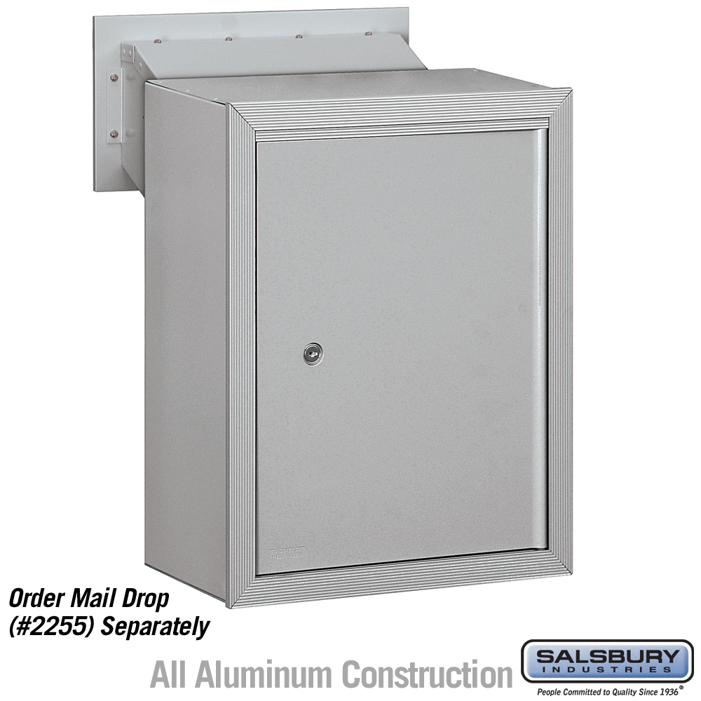 2256ALM Receptacle - Option For Mail