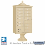 13 Door Decorative Cluster Mailboxes