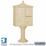 8 Door Decorative Cluster Mailboxes