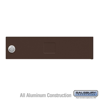 Salsbury 3451BRZ 4C Pedestal Mailboxes Replacement Door