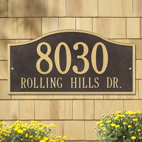 Whitehall Rolling Hills Plaques - Grand Wall - Two Line