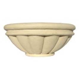 "Roman Bowl Planter 36"" in Sandstone Color"