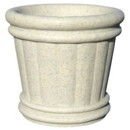 "Roman Urn Planter 18"" in Autumn Leaf Color"