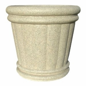 "Roman Urn Planter 28"" in Speckled Granite Color"
