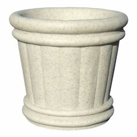 "Roman Urn Planter 34"" in Autumn Leaf Color"