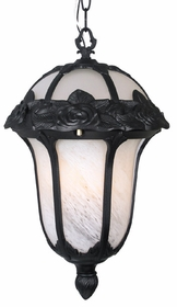 Rose Garden Small Chain Pendant Lighting Fixture